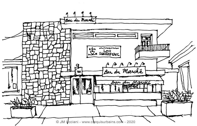 Bar du marché Sénas