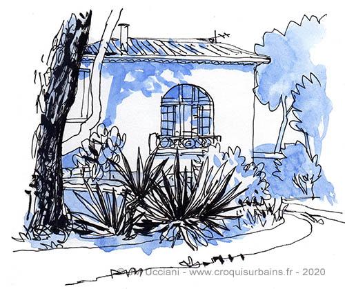 Maison provençale atypique