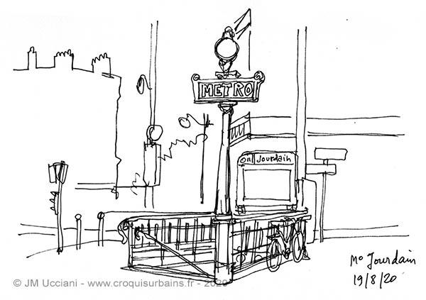 métro à Paris