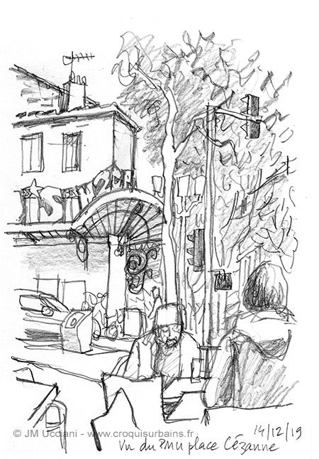Bar de quartier à Marseille