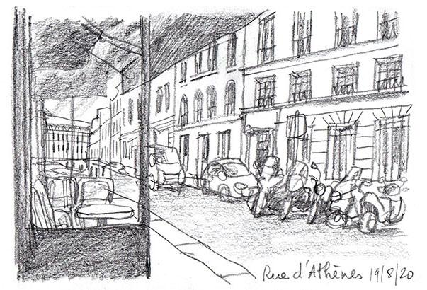 rue d'Athènes