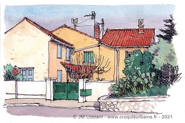 Maison de village à Orgon
