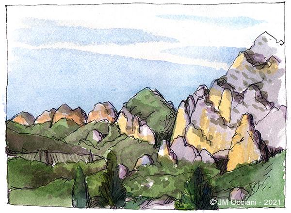 massif des Alpilles