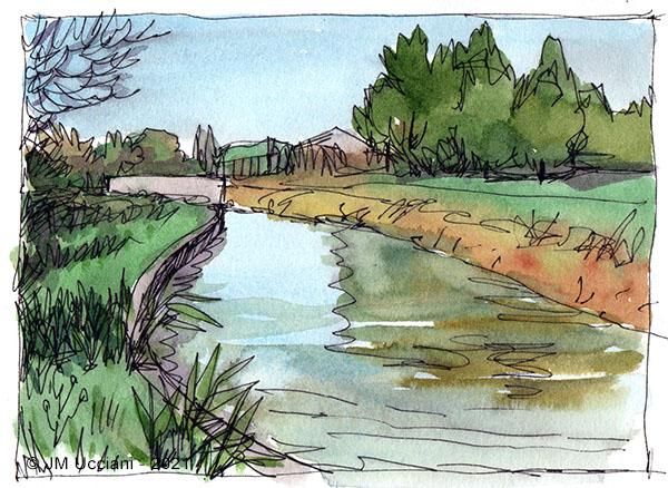 Canal des Alpines à Orgon