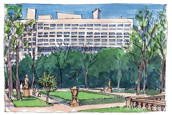 Immeuble Le Corbusier à Marseille