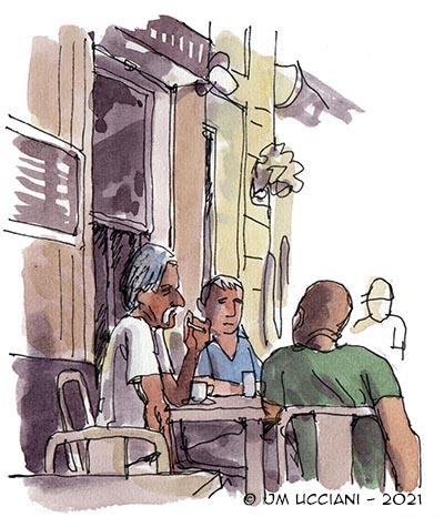 Bar corse à Marseille