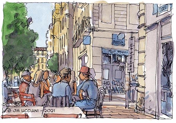la Plaine (place Jean Jaurès) à Marseille