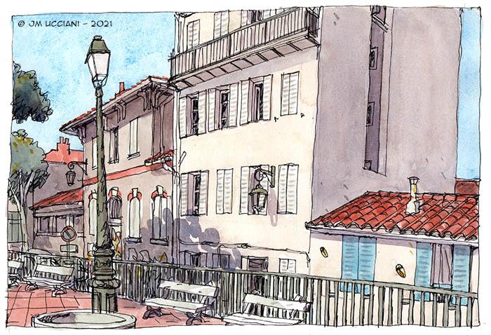 La Place des Moulins au Panier