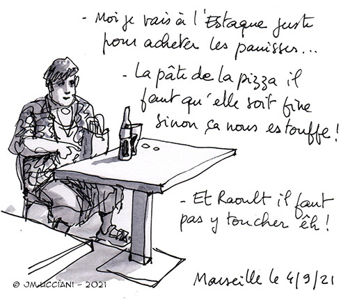 Mamie marseillaise