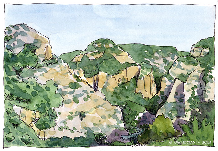 Dans les hauteurs du Luberon